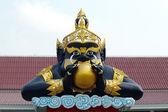 Estátua de rahu no templo na tailândia — Fotografia Stock