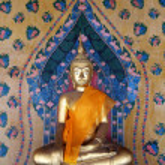 Buddha statue in Thailand — Stock Photo #12190019