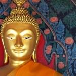 Buddha statue in Thailand — Stock Photo #12190056