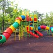 colorful playground in a city park — Stock Photo