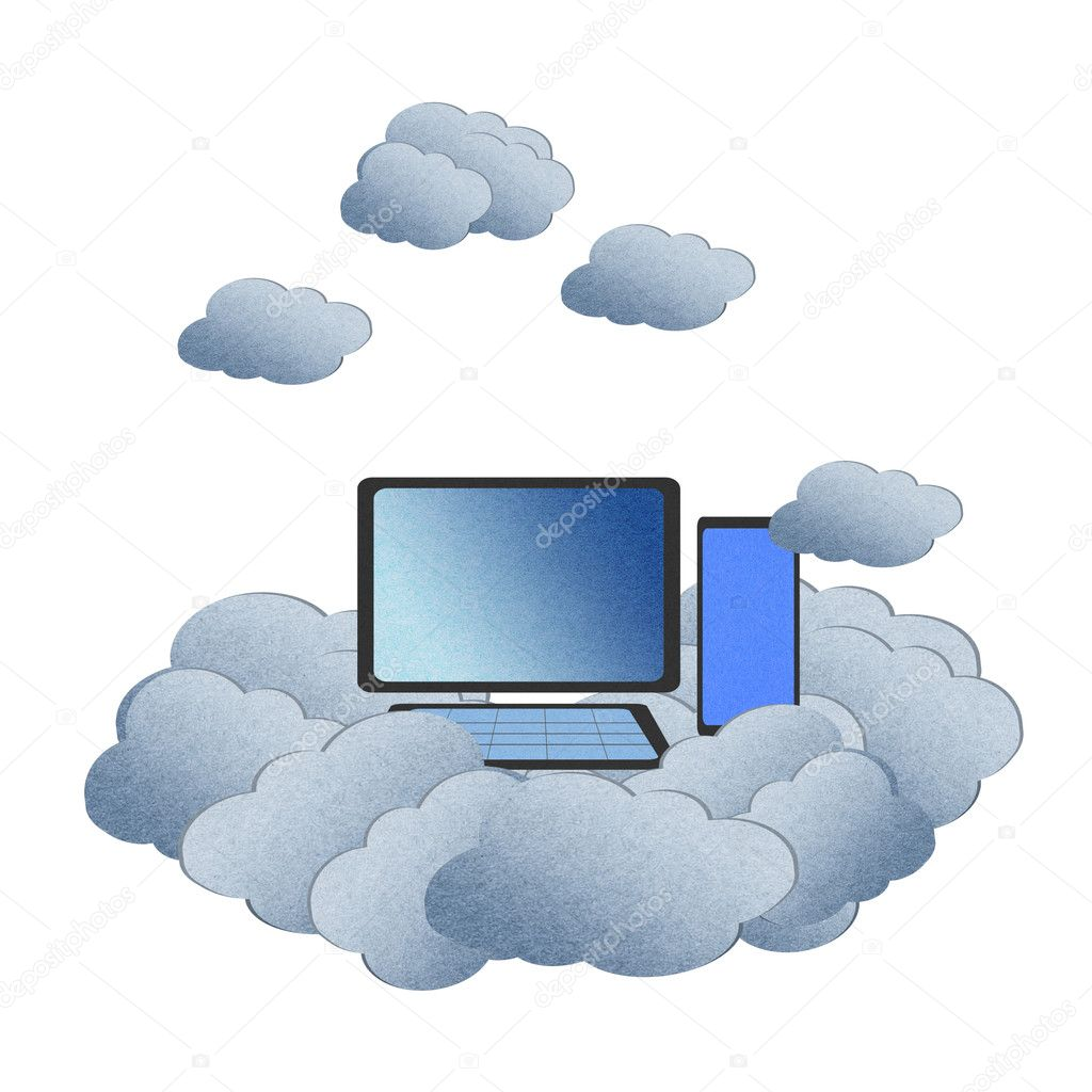 White Cloud Computing Icon