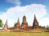 Wat Chaiwatthanaram, Ayutthaya, Thailand — Stock Photo