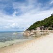 Samui island beach, Thailand — Stock Photo