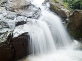 Waterfall in the jungle, Koh Samui island, Thailand — Stock Photo