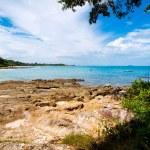 Thai island of Koh Samed. The pile of rocks on the beach — Stock Photo