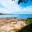 Thai island of Koh Samed. The pile of rocks on the beach — Stock Photo #12234927