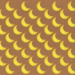 Paper texture seamless moon pattern on brown background — Stock fotografie #12251843