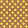 Paper texture seamless sun pattern on brown background — Stockfoto #12251899