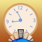 εννοιολογική εικόνα - επιχείρηση χρόνο — Φωτογραφία Αρχείου