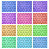 Seamless Colorful background Collection — Stock Photo