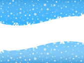 Christmas background with white space — Foto de Stock
