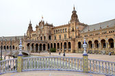 Plaza España Sevilla — Stock Photo