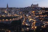 Toledo świtu — Zdjęcie stockowe