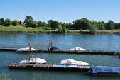 パヴィア ティチーノ川 — ストック写真