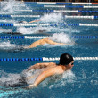 Swimming - Stockfoto