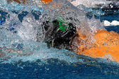 Swimming — Stock fotografie
