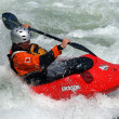 Canoe freestyle — Stockfoto