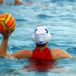 Womens water polo — Foto Stock