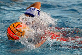Women s water polo — Stock Photo