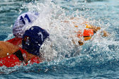 Women's water polo — Stock Photo