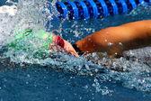 Swimming — Stok fotoğraf
