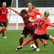 Stock Photo: Women football