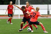 Women football — Stock Photo