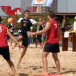 Stock Photo: Beachhandball