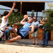 Beachhandball — Foto Stock