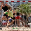Beachhandball women — Stock Photo