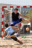 Beachhandball — Foto Stock