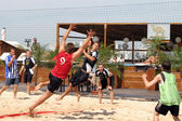 Beachhandball — Stock Photo