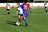 женщин футбол — Стоковое фото
