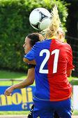 Frauen-Fußball — Stockfoto