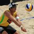 Stock Photo: Beach volleyball