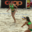 Beach volleyball - Foto Stock