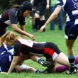 Rugby women — Foto Stock