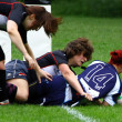 Rugby women - Foto de Stock