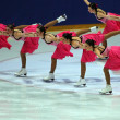 Synchronized Skating — Stockfoto