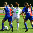 Women soccer — Stockfoto