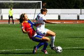 Vrouwen voetbal — Stockfoto