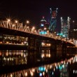 Hawthorne Bridge at Night Portland, Oregon — Stock Photo