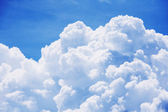 Cloud on blue sky — Stock Photo