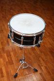 Metal snare drum — Stock Photo