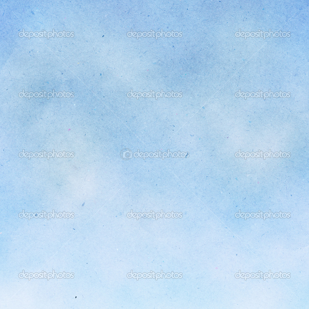 Painting Blue Sky Blue Sky Watercolor Painted