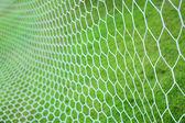 Soccer goal net — Stock Photo