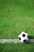 Soccer ball field. — Stock Photo