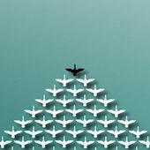 Leadership du motif canard — Photo