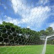 Soccer goal — Stock Photo #12379414