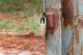 Key locked — 图库照片